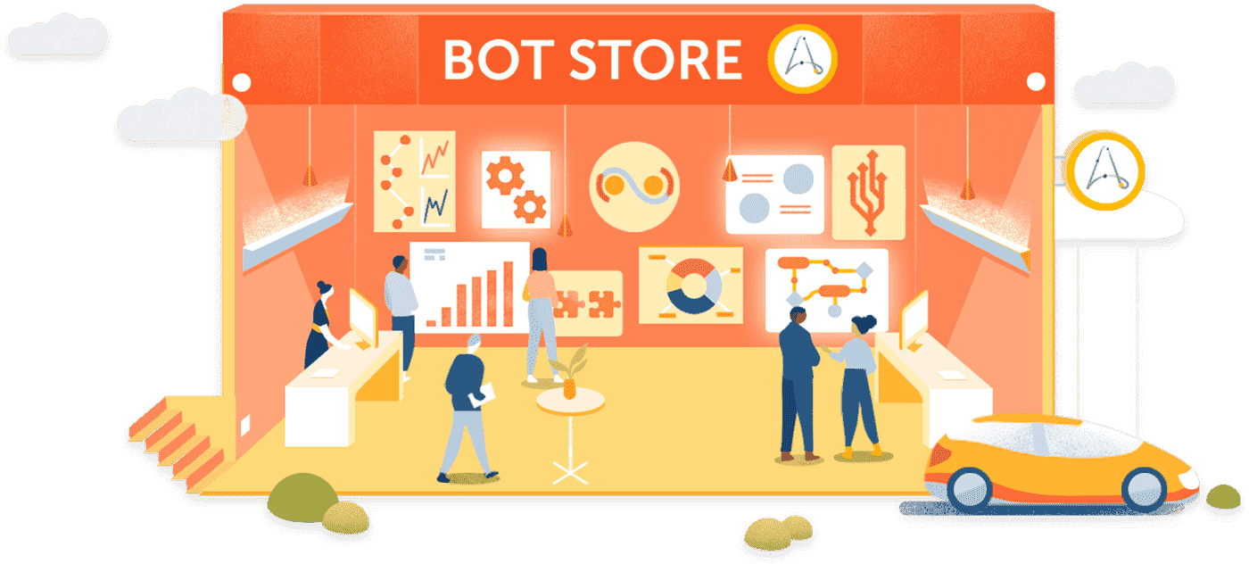 Automation Anywhere Private Bot Store